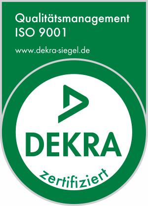 DEKRA Siegel - INFRA - Ingenieure für Infrastruktur