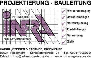 infra Ingeneurbuero Rosenheim - Projektierung - Bauleitung