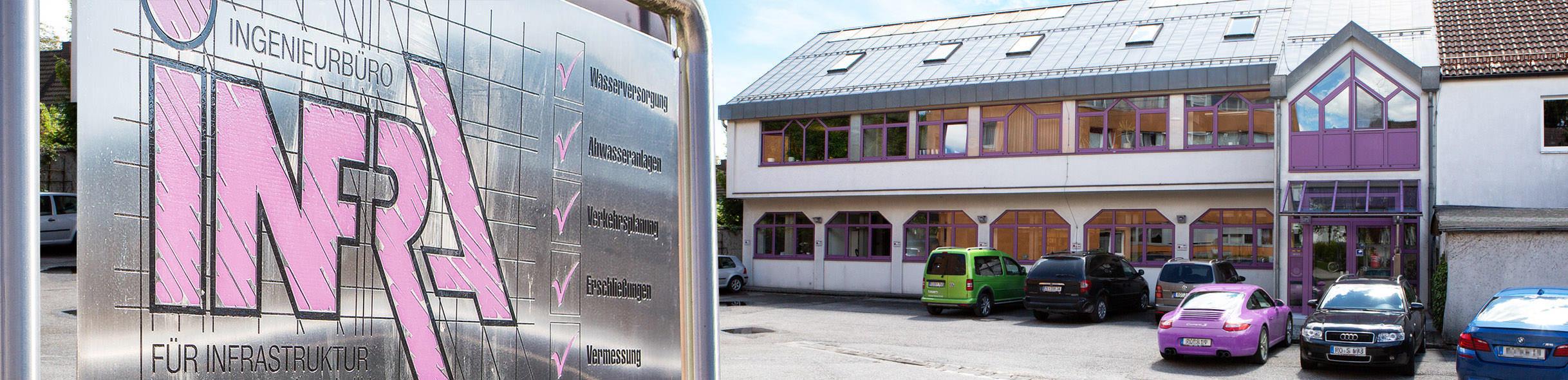 Ingenieurbüro für Infrastruktur Gebäude Ansicht