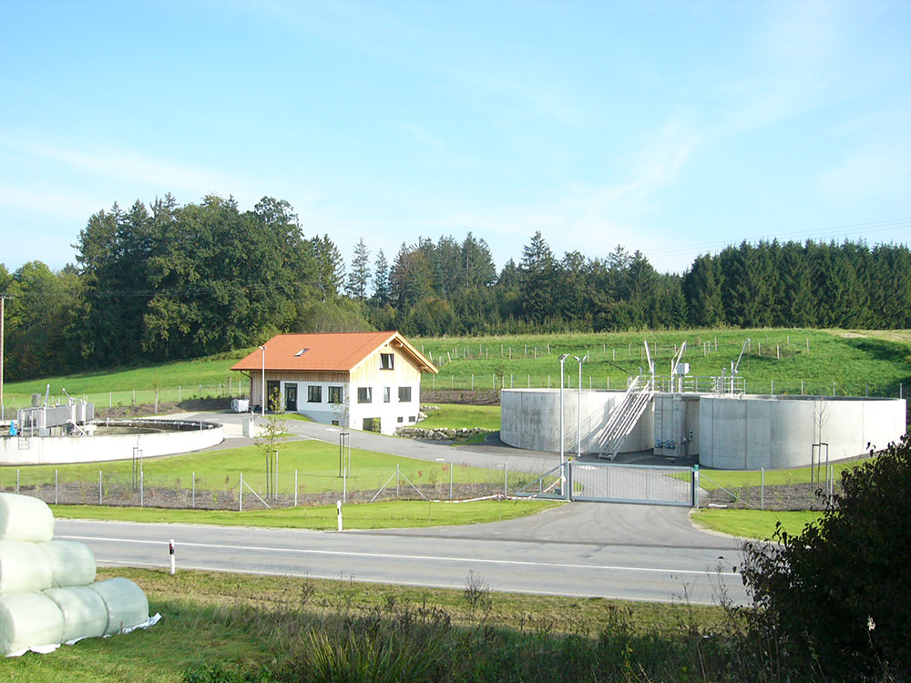 Infra Ingenieurbüro - Projekt Ausbau der Abwasseranlage für die Gemeinde Griesstätt
